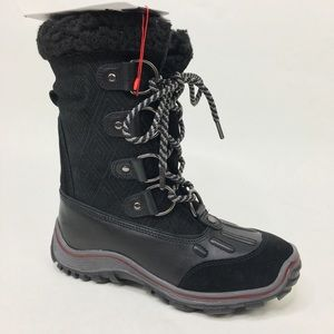 Pajar Canada waterproof lined black boots sz 7.5